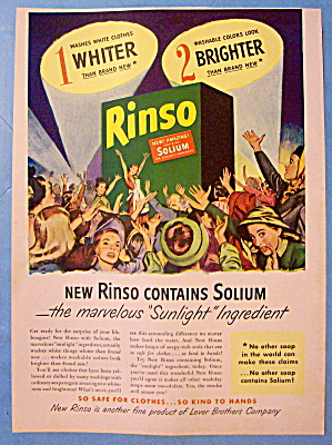 1947 Rinso Soap With Group Of Women (Image1)