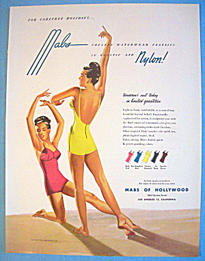 1946 Mabs Of Hollywood With Lovely Women (Image1)