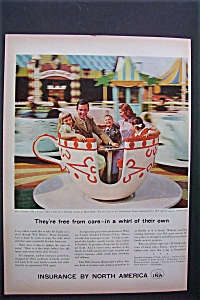 Vintage Ad: 1958  Insurance  By  North  America (Image1)