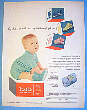 1952 Tuxedo Yarn Company With Little Baby Boy (Image1)