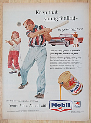 Vintage Ad: 1958 Mobil Oil Special