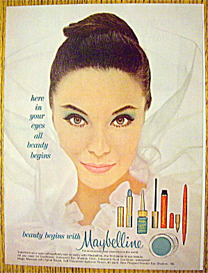 1962 Maybelline with Lovely Woman (Image1)