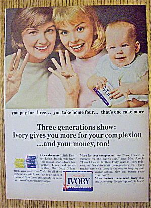 1965 Ivory Soap with Three Generations (Image1)