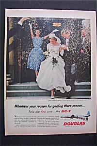 Vintage Ad: 1958 Douglas DC -7 (Image1)