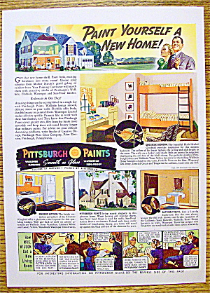 1939 Pittsburgh Paints with Paint Yourself A New Home (Image1)