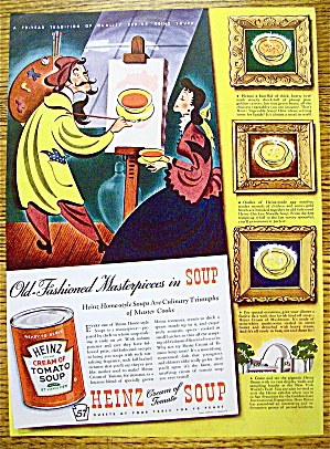 1939 Heinz Tomato Soup with Man Painting (Image1)