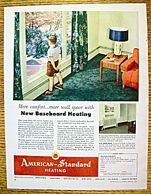 1954 American Standard Heating w/Boy In Window (Image1)