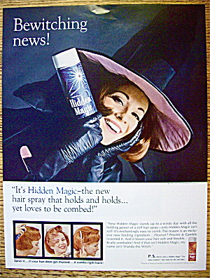 1965 Hidden Magic with Woman Dressed As A Witch (Image1)