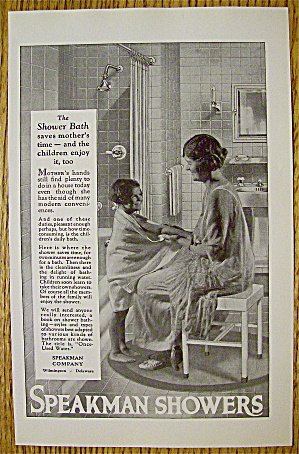1923 Speakman Showers With Woman Drying Child (Image1)