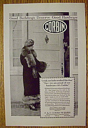 1923 Corbin With Woman At The Door (Image1)