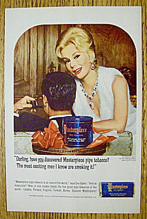 1964 Masterpiece Tobacco with Eva Gabor (Image1)