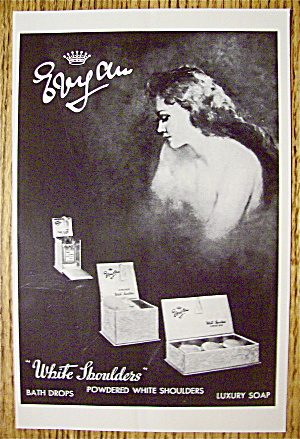 1964 White Shoulders Soap with Lovely Woman (Image1)