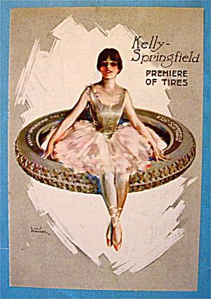 1918 Kelly Springfield Tires w/Ballerina On Tire (Image1)