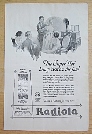 1925 Radiola With The Super Het