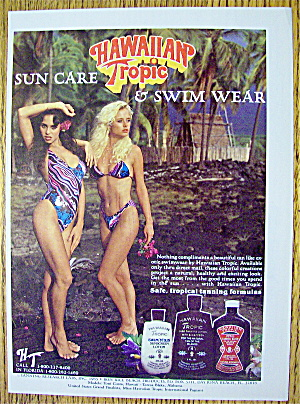 1985 Hawaiian Tropic With Lovely Women (Image1)