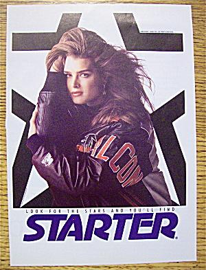 1992 Starter Jacket With Brooke Shields (Image1)