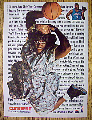 1992 Converse With Basketball's Larry Johnson (Image1)