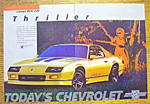 1985 Chevrolet With Camaro IROC Z28 (Image1)