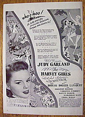 1945 The Harvey Girls With Judy Garland