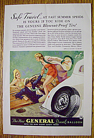 1934 General Tire with Couple Greeting Woman (Image1)
