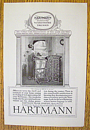 1924 Hartmann Trunk Co with Woman & Child (Image1)