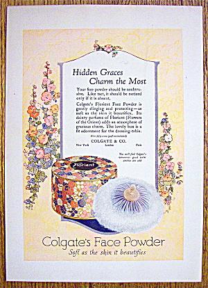 1924 Colgate's Face Powder with Florient Face Powder (Image1)