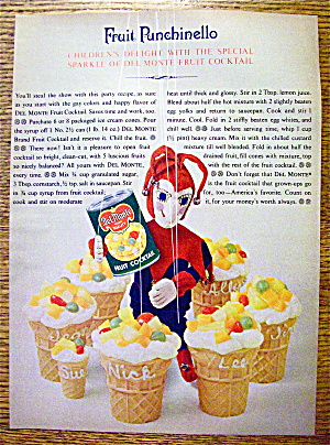 1963 Del Monte Fruit Cocktail with Fruit Punchinello (Image1)