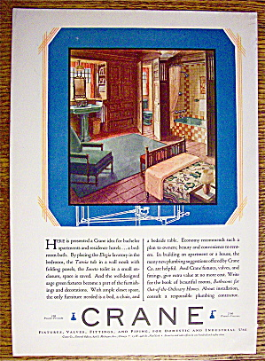 1929 Crane with Bachelor Apartment Setting (Image1)