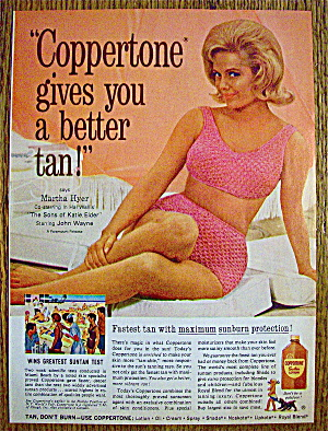 1965 Coppertone with Martha Hyer (Image1)