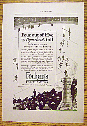 1924 Forhan's For The Gums with Soccer (Image1)