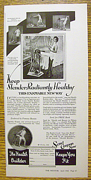 1928 The Health Builder with Dorothy Knapp (Image1)
