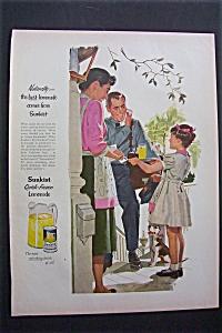 1955  Sunkist  Quick  Frozen  Lemonade (Image1)