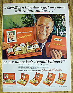 1966 Swing Gift Sets With Golfing's Arnold Palmer