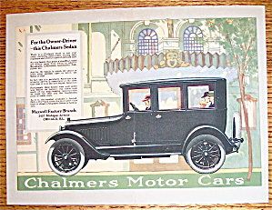 1919 Chalmers Motor Cars with the Chalmers Sedan (Image1)
