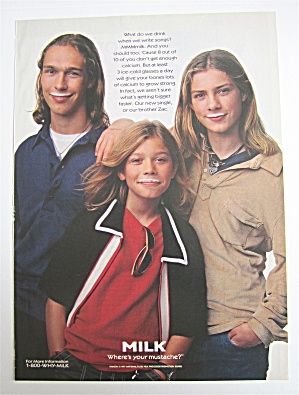 1998 Got Milk With The Hanson Brothers