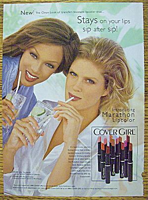 1997 Cover Girl Lipcolor w/Tyra Banks & Rachel Hunter (Image1)