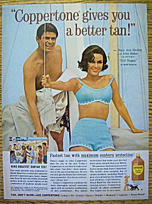 1965 Coppertone w/Mary Ann Mobley & Joby Baker (Image1)