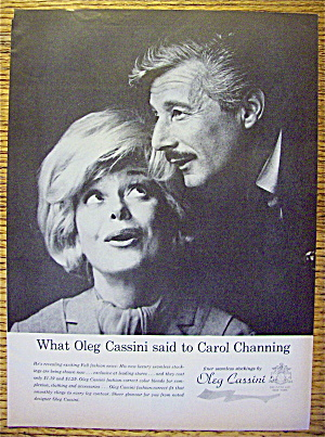1963 Oleg Cassini Stockings with Carol Channing (Image1)