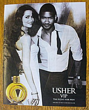 2010 Usher VIP with Usher (Image1)