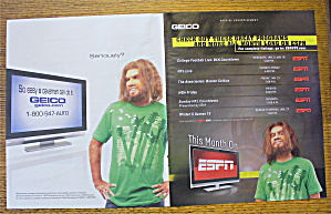 2010 Geico Insurance With The Caveman