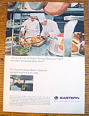 1965 Eastern Airlines With Chefs Cooking