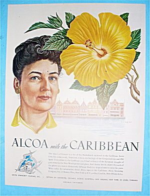 1948 Alcoa Sails The Caribbean With Curacao (Image1)