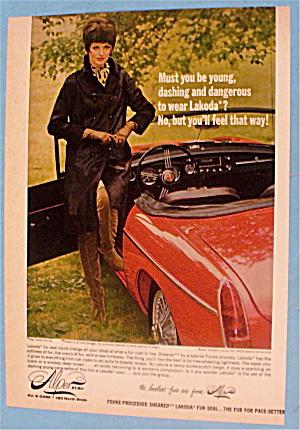 1966 Alper Furs With Woman & Car (Image1)