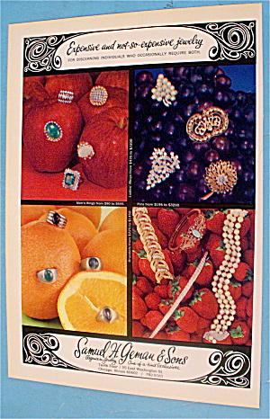 1966 Samuel Geman & Sons Jewelers With Jewelry (Image1)