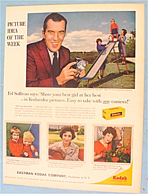 1960 Kodak With Ed Sullivan