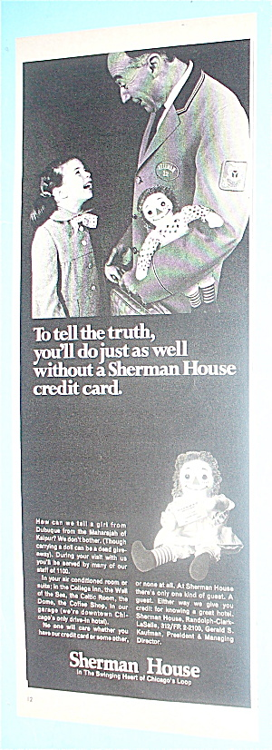 1968 Sherman House With Man & Little Girl (Image1)
