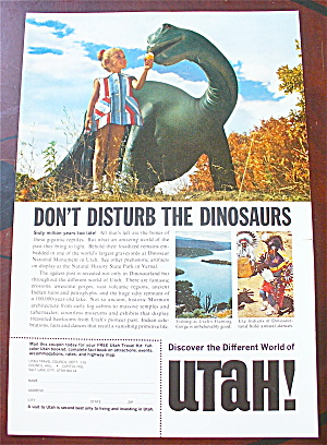 1966 Utah with Don't Disturb The Dinosaurs (Image1)
