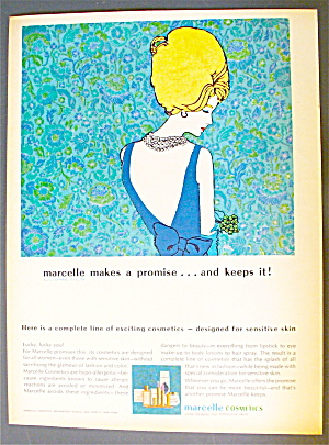 1963 Marcelle Cosmetics with a Lovely Woman (Image1)