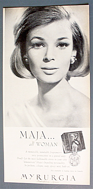 1963 Myrurgia Perfume with Maja (All Woman) (Image1)