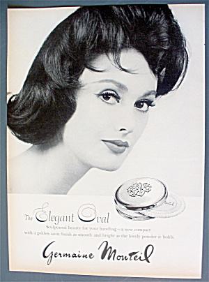 1963 Germaine Monteil with Woman & Elegant Oval (Image1)